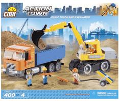 Cobi kocke Dump Truck & Excavator