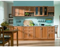 Kuchyňská linka Wanilia 260 cm - deska dělená