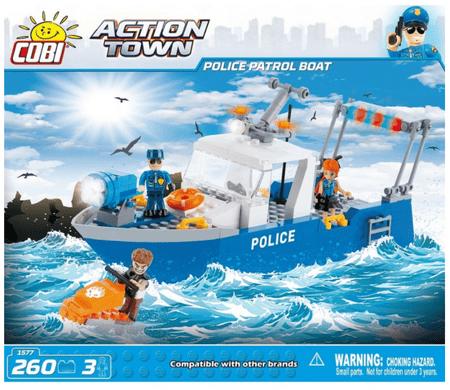 Cobi kocke za sestavljanje Policijski patruljni avto