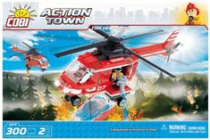 Cobi Gasilski helikopter kocke za sestavljanje, 300 kosov