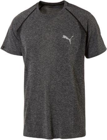 343b861b5 Puma koszulka sportowa evoKNIT Basic Tee Black Heather   MALL.PL
