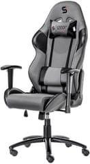 SilentiumPC gamerski stol Gear SR300 GY (SPG004)