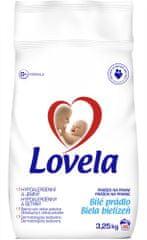 Lovela prašek za pranje belega perila, 3,25 kg
