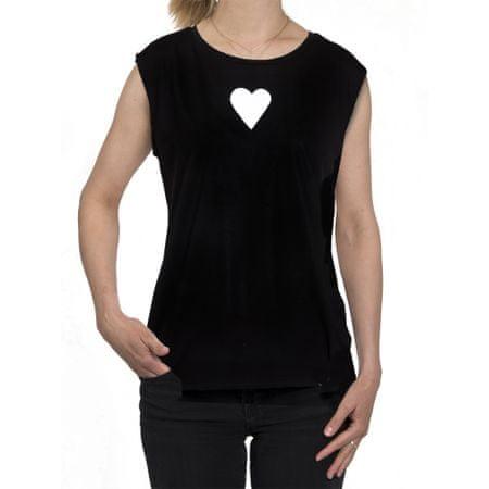 KlokArt dámské tílko Stella Sparkles Modal XL černá