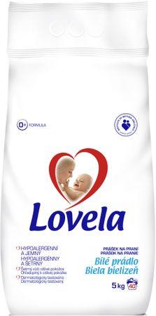 Lovela Mosópor fehér 5 kg (40 mosás)