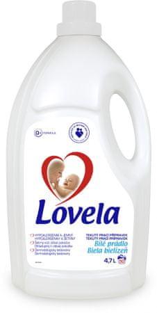 Lovela Gél biela, 4,7 l / 50 pracích dávok
