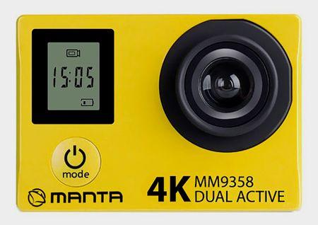 Manta športna 4KUHD aktivna kamera MM9358 - Odprta embalaža