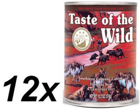 Taste of the Wild mokra karma dla psa Southwest Canyon Canine 12 x 390g