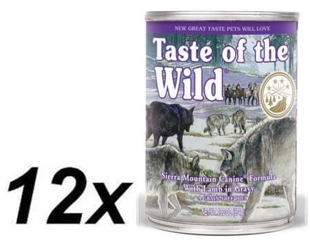 Taste of the Wild Sierra konzerv 12 x 390g
