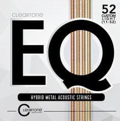 Cleartone EQ 11-52 Custom Light Kovové struny na akustickú gitaru