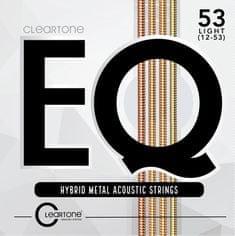 Cleartone EQ 12-53 Light Kovové struny na akustickú gitaru