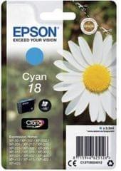 Epson tinta 18, cijan (C13T18024012)