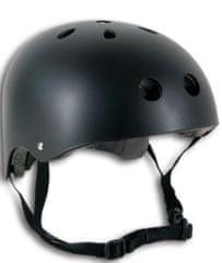 Spartan čelada Skate, črna, S