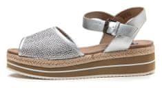Wrangler Dámské sandály Palm Diamond, stříbrná, vel. 40 - použité