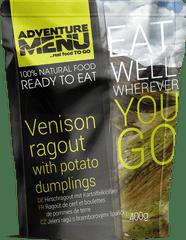 Adventure Menu Jelenie ragú so zemiakovými hnedľami