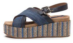 Wrangler dámske sandály Tempura Straw