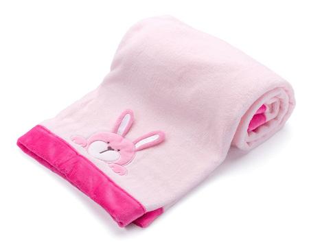 Vitapur otroška odejica Vitapur Family, roza