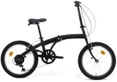 B4C zložljivo kolo Car Bike Magnetic, 6 prestav, črno