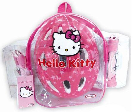 Spartan ščitniki + čelada Hello Kitty