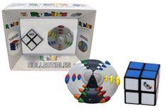 Rubik zestaw gier logicznych- Kostka Rubika 2x2 + układanka UFO