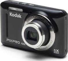 KODAK PixPro FZ53 digitális fényképezőgép, Fekete