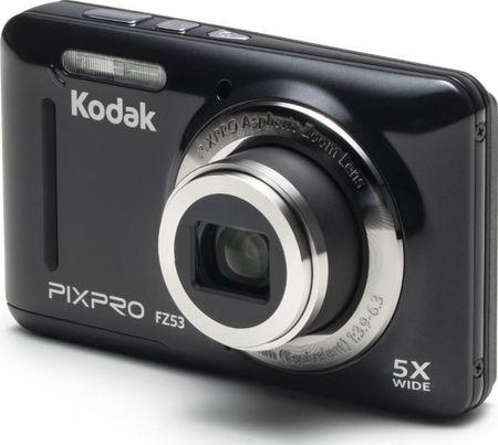 Kodak digitalni fotoaparat FZ53, črn