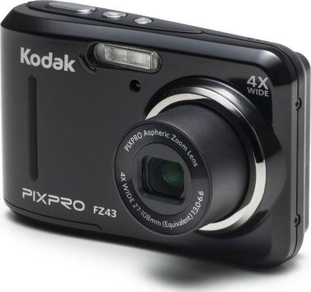 Kodak digitalni fotoaparat FZ43, črn