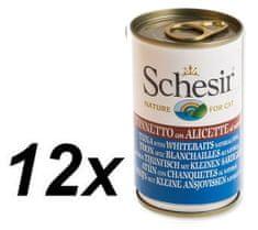 Schesir Konzerva Cat tuniak + sleď 12 x 140g