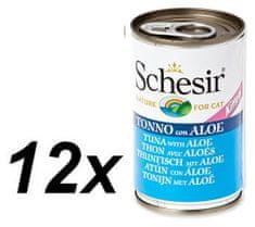 Schesir Kitten konzerv - tonhal + aloe 12 x 140g