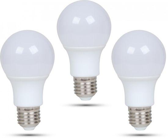 Retlux A60 E27 žiarovka 7W teplá biela, 3 ks