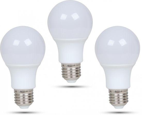 Retlux A60 E27 žiarovka 9W teplá biela 3 ks
