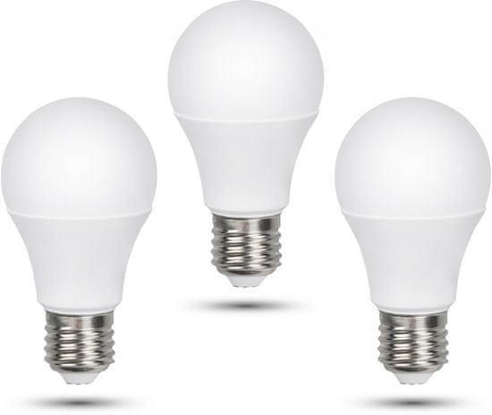 Retlux A60 E27 žiarovka 12W teplá biela, 3 ks
