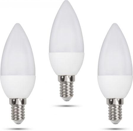 Retlux C35 E14 świeczka 6W ciepła biała, 3 szt