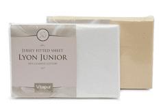 Vitapur bombažna napenjalna rjuha Lyon Junior 70x140 cm, bež