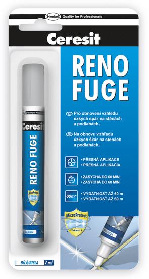 Ceresit Obnovovač škár Reno Fuge 7 ml, biela