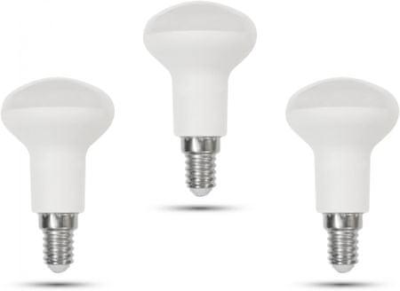 Retlux R50 E14 Spot 6W studená biela, 3 ks