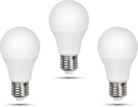 Retlux A60 E27 žiarovka 12W studená biela, 3 ks