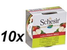 Schesir Konzerv Dog Fruit - csirke + alma 10 x 150g