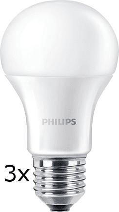 Philips CorePro Ledbulb 10-75W A60 E27 840 ND, 3 ks
