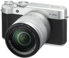 FujiFilm aparat fotograficzny X-A10 + XC16-50 Silver/Black