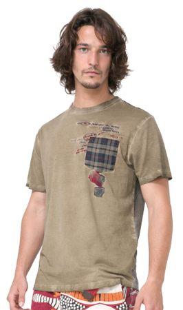 Desigual muška majica Javi S kaki
