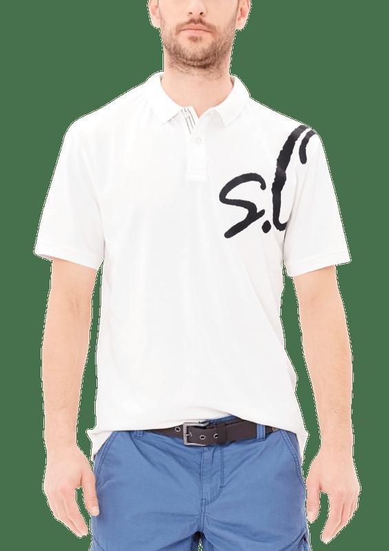 s.Oliver płaszcz męski XL czarny | MALL.PL