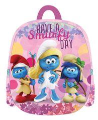 Smurfs otroški nahrbtnik 3D