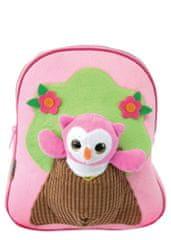 Street dječji plišani ruksak s igračkom, Small pink