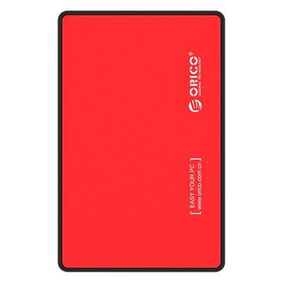 "Orico  zunanje ohišje za HDD/SSD 6,35 cm (2,5"") USB 3.0, UASP, SATA3, rdeča,"