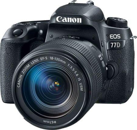 1ca6bb56d5 CANON EOS 77D + 18-135 IS USM Fényképezőgép | MALL.HU