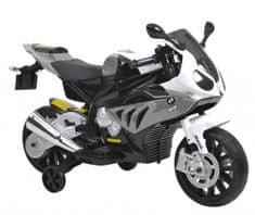 Hecht S1000RR - motorový motocykl BMW - sivý