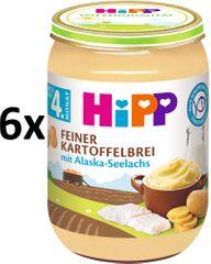 HiPP Jemná bramborová kaše s aljašskou treskou - 6 x 190g