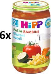 HiPP BIO PASTA BAMBINI Rigatoni Neapol - 6 x 250g