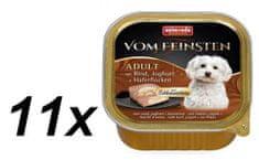 Animonda mokra karma dla psa V.Feinsten, wołowina, jogurt i płatki 11 x 150g